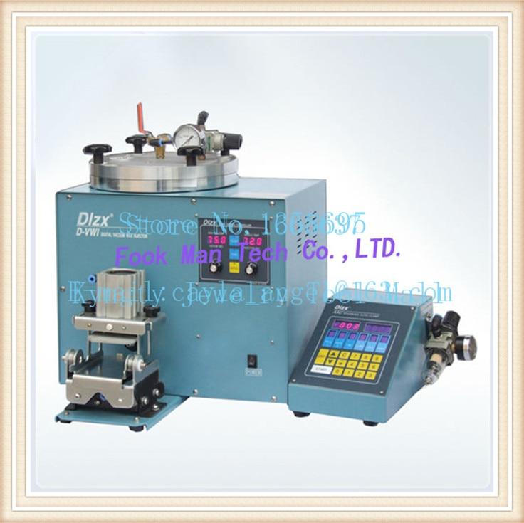 jewellery making Free Shipping Brasil Jewelry Wax Injector Machine Digital Vacuum Wax Injector