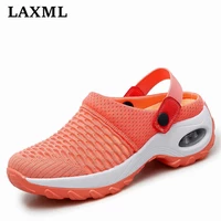 2021 new mesh breathable hollow women sneakers casual lightweight soft sole jogging women shoes outdoor shock absorption shoes