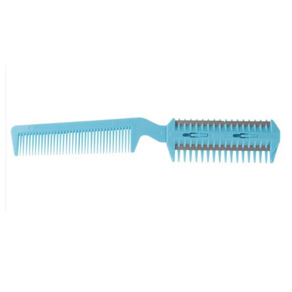 Peine de corte de pelo de doble cara, cortador de pelo, flequillo de pelo, salón de pelo, peine para corte de pelo de Mascota, peine, cortadora de pelo