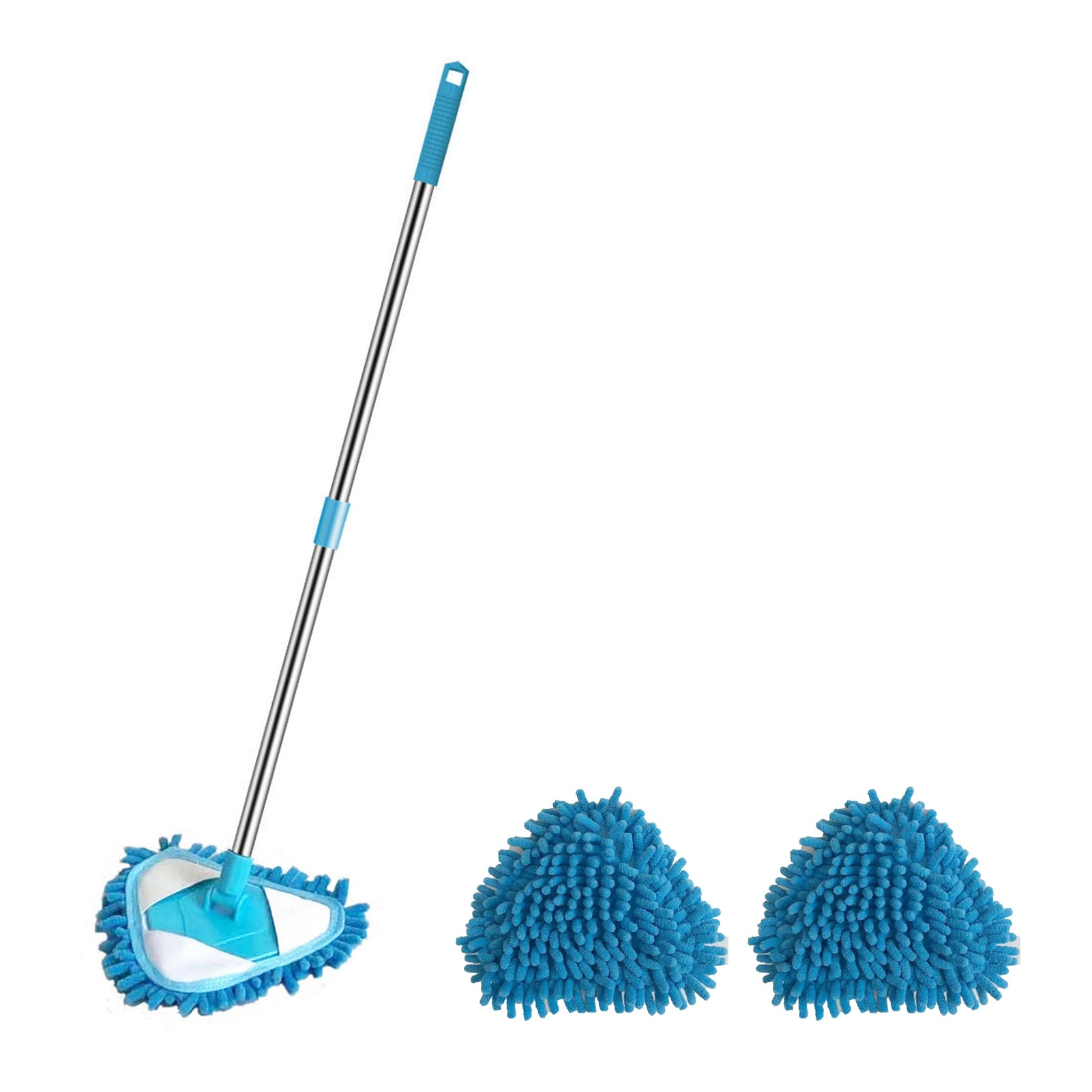 lazy triangle cleaning mop retractable instant water cleaning mop rotatable triangle dust mop for mirror glass ceiling corn Lazy Triangle Cleaning Mop Retractable Cleaning Mini Mop Rotatable Triangle Dust Mop Dust Brush Home Clean Tools