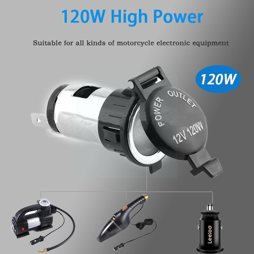12V Car Cigarette Cigar Lighter Socket Charger Power Waterproof Supply Outlet R5P5