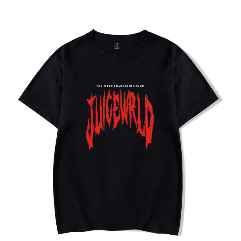 Men's T-shirt Fashion Rapper JUICE WRLD Funny Tshirt Men Summer Casual Male T Shirt Hipster Hip-hop Tee Shirt Homme Streetwear