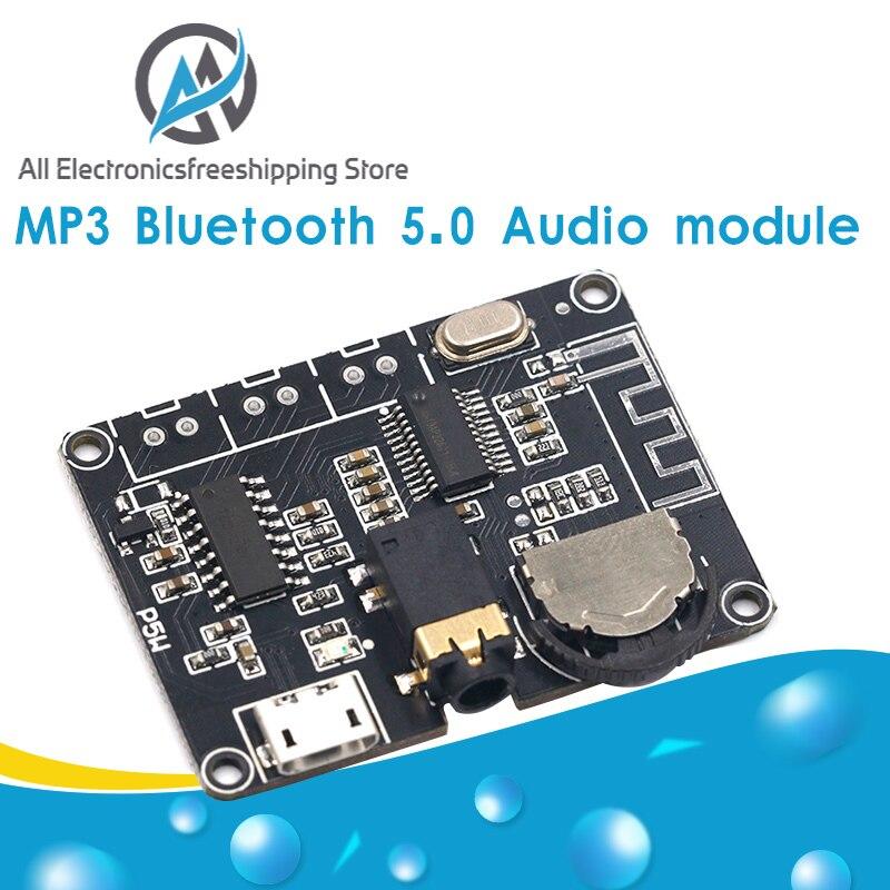 5W + 5W PAM8406 módulo amplificador de potência de áudio estéreo Bluetooth 5.0 DC3.7-5V XY-P5W para Arduino diy kit