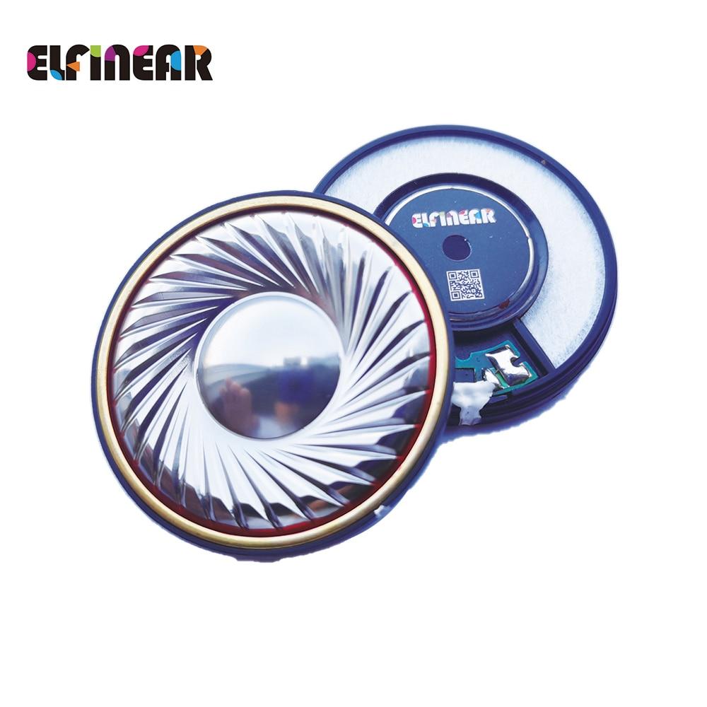 ELFINEAR لتقوم بها بنفسك 50 مللي متر 42 أوم السمعية HiFi باس سماعة الرأس أجزاء 50E02 (حزمة من 2)