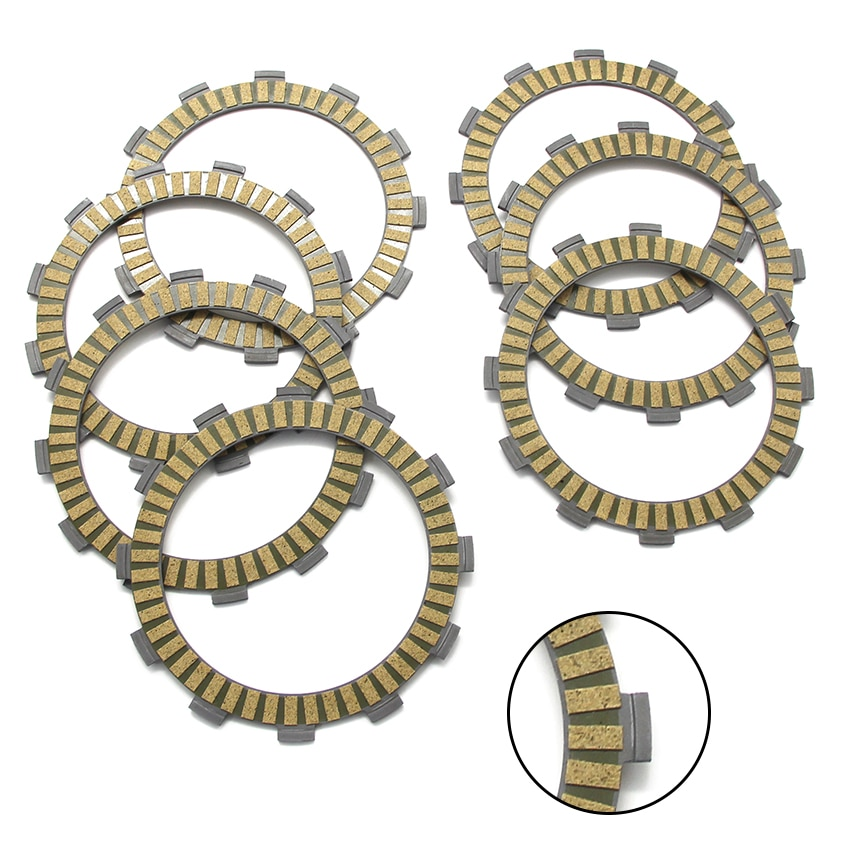 Motorcycle Friction Clutch Plates Disc For KTM 125 EGS EXC (2T) Six Days EXE 144 SX Supermoto SXS 150 200 EGS OEM:77032011000