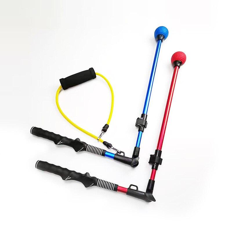 Golf Practice Device, Folding Posture Corrector, Telescopic Swing Stick Practice Device, Beginner Practice Supplies