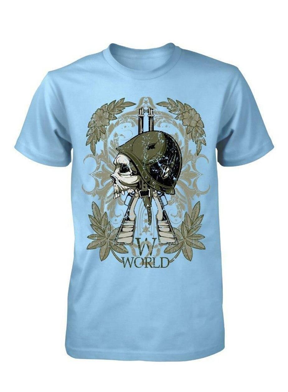 Bnwt, soldado de la guerra mundial, ejército militar, Segunda Guerra Mundial, camiseta para adultos S-Xxl, Camiseta clásica única