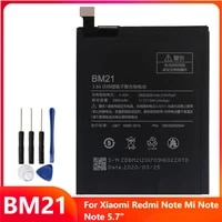 replacement phone battery bm21 for xiaomi redmi note mi note note 5 7 redrice note bm21 2900mah with tools