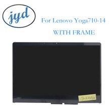 "14,0 ""Замена ноутбука для Lenovo Yoga 710-14IKB 80V4 710 14IKB P/N FRU 5D10K81085 FHD сборка сенсорный ЖК-дигитайзер экран"