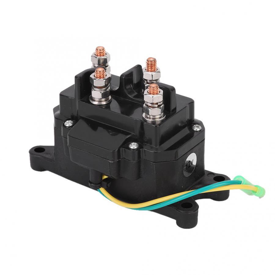 Универсальный 12V Лебедка для ATV UTV электромагнитные реле переключатель контактора 63070 для морской автомобиля переключатель реле переключат...