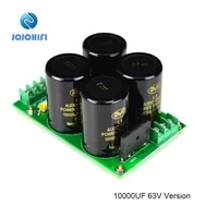 10000uf 63v 4 25a hp o a nover diy kits finished board rectifier filter power amp amplifier supply board after stage