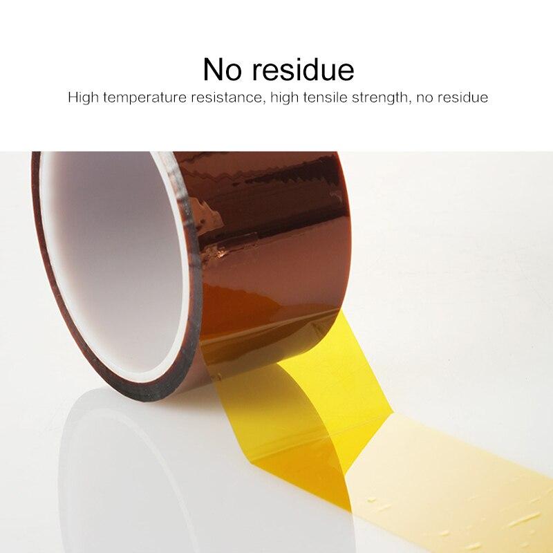 Fita adesiva de poliimida fita adesiva metálica forte fita à prova de água fita de isolamento térmico 3d de alta temperatura