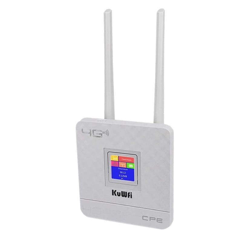 CPE903 4G راوتر لاسلكي مع فتحة Sim مراقبة المؤسسة اللاسلكية إلى السلكية المحمولة واي فاي للمنزل/المكتب (الاتحاد الأوروبي التوصيل)