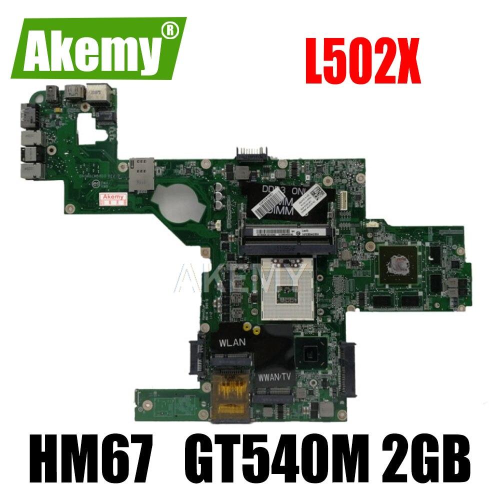 لوحة أم للكمبيوتر المحمول Akemy 714WC 0714WC DAGM6CMB8D0 s989 لـ Dell XPS L502X اللوحة الرئيسية HM67 ث/GT 540 م 2 جيجا أعمال