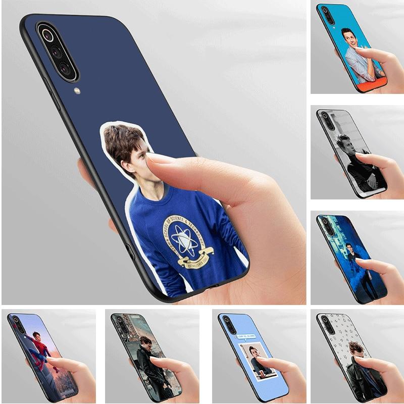 Silicone Phone Case for Xiaomi Redmi Note 4X 5 5A 6 7 8 8T Pro Prime Cover tpu Tom Holland
