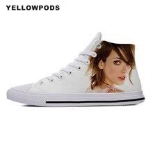 Homme chaussures décontractées homme Winona Ryder Goth gothique néo musique léger-toile Plimsolls respirant décontracté pour hommes chaussures
