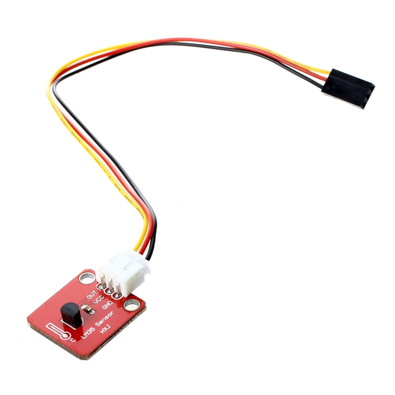 LM35 LM35DZ Modul Thermal Sensor Temperatur 0-100Celsius - Rot
