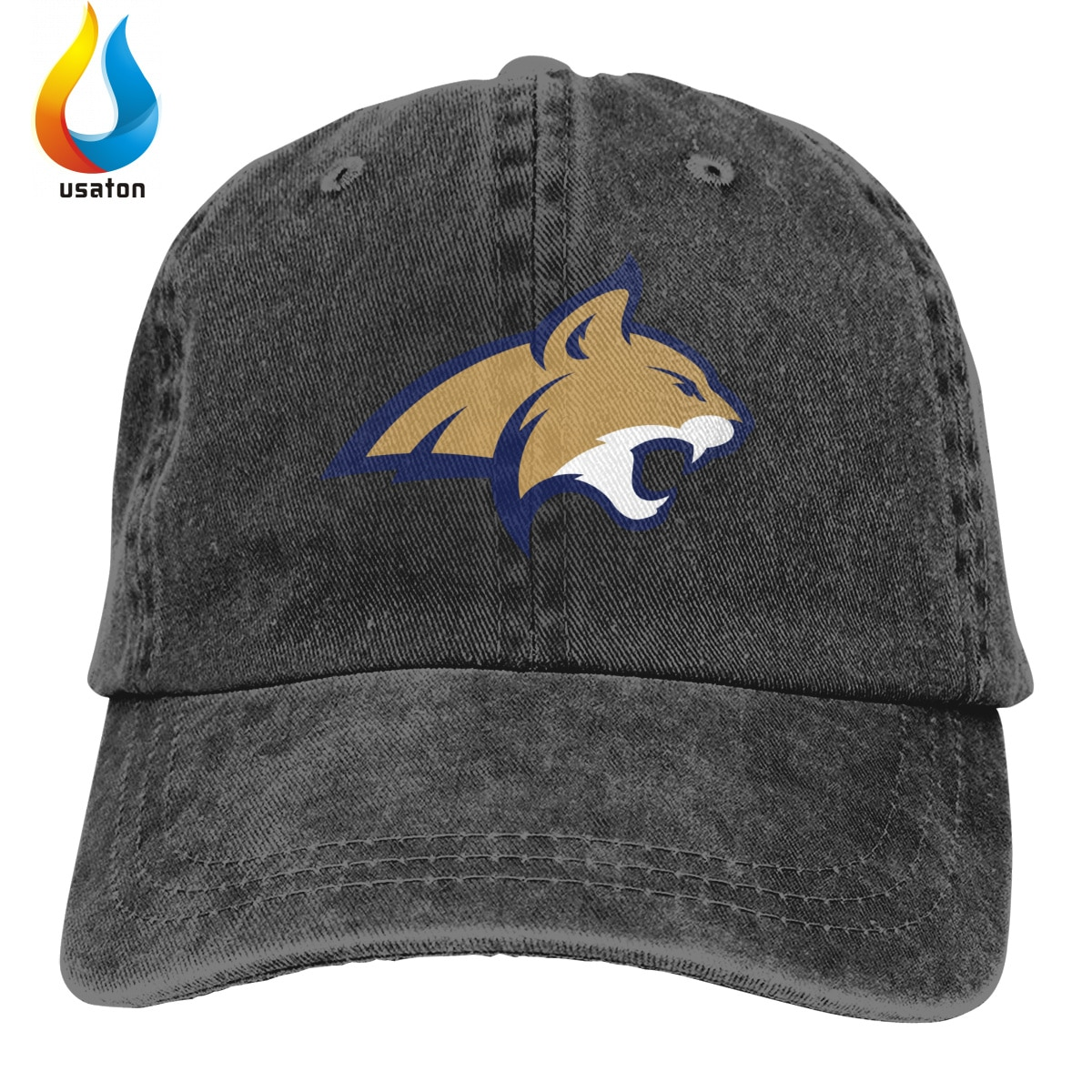 Gorra de béisbol de moda estampado 3D Montana estado gorras con logotipo hombres mujeres algodón al aire libre visera Simple Casual Cap
