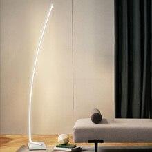 Lámparas de suelo LED modernas, lámparas de suelo LED para sala de estar, lámparas de pie para habitaciones familiares, oficinas de dormitorio, iluminación regulable, lámpara de pie luminaria