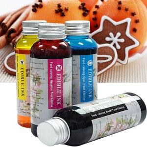 100ml Edible Ink Black Color Photosmart 5510 5511 5512 5514 5515 5520 5522 5524 6510 6512 6515 6520 7510 Compatible for HP 364
