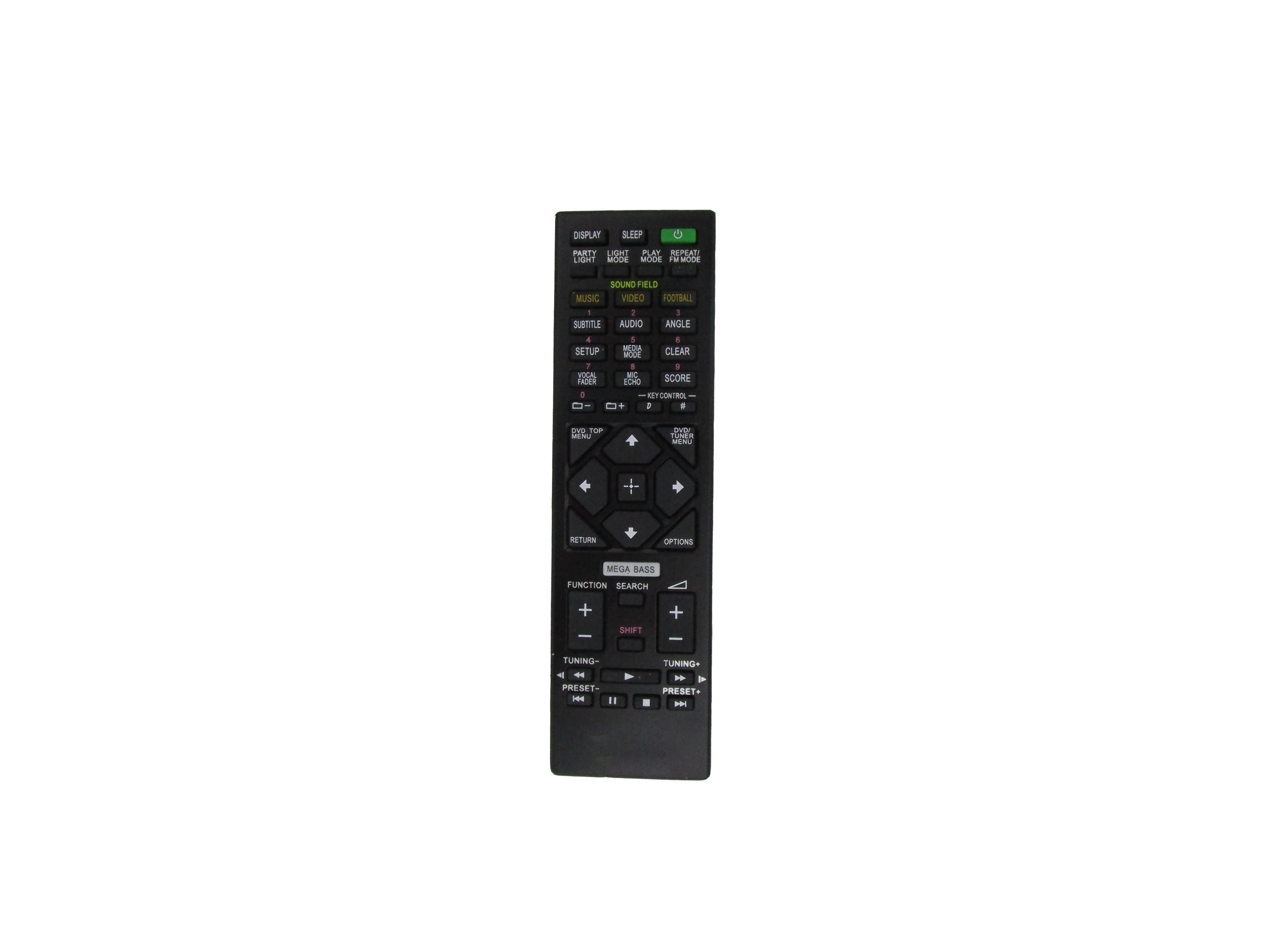Control remoto para Sony RMT-AM210U MHC-V44D RMT-AM420U MHC-V50D MHC-GT4D SA-WGT4D SS-GT4DB SHAKE-X10D casa audio estéreo sistema