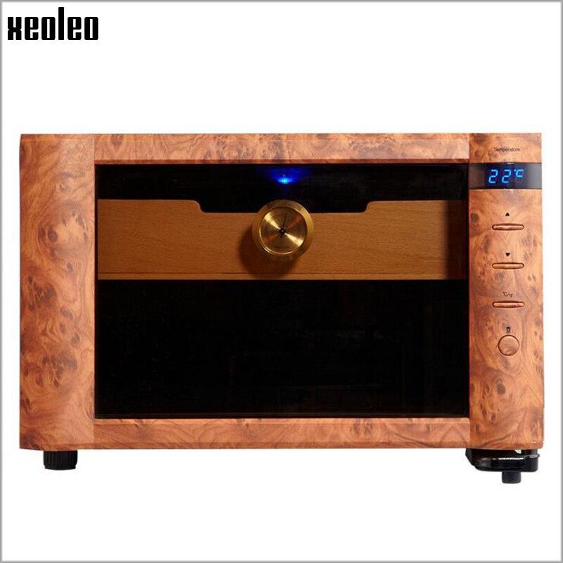 XEOLEO ذكي التحكم في درجة الحرارة ثابت درجة الحرارة علبة سجائر الثلاجة الإلكترونية المرطب الرطوبة