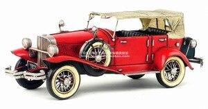 American Vintage Iron Art Home Decoration Crafts car Racing Handmade Metal modelcar Collection Decoration