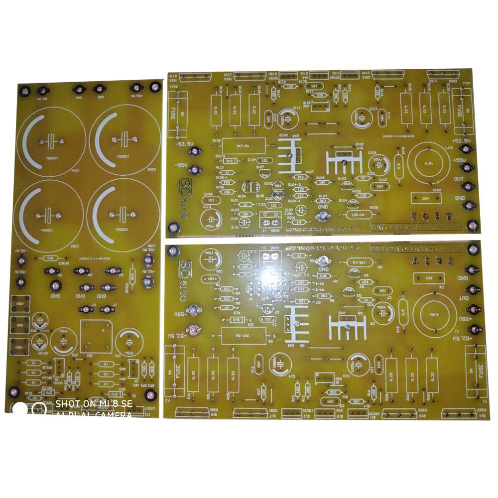 Placa amplificadora de potencia SC5100 sc Clase A 100W, placa PCB amplificadora de potencia