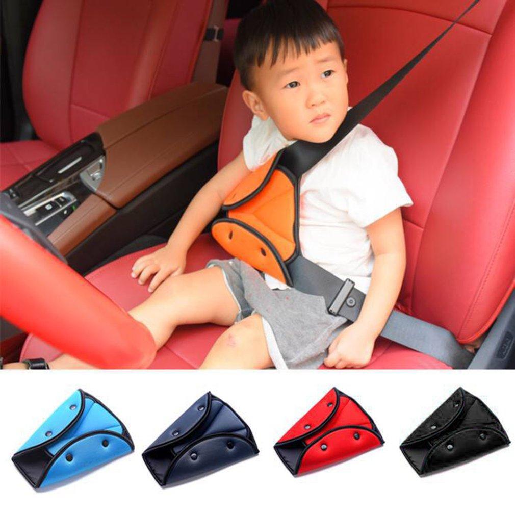 Новый треугольный зажим для автомобильного ремня безопасности, пряжка, универсальный держатель для автомобильного ремня безопасности, чех...