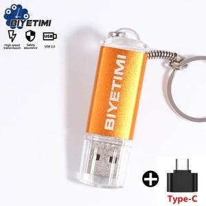 Usb-флеш-накопитель Biyetimi с реальной емкостью, компактный цветной смарт-накопитель 8 ГБ, 16 ГБ, 32 ГБ, для ПК