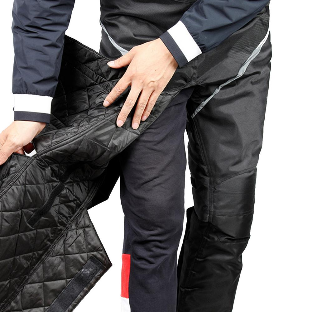 Motorcycle Leg Cover Cold-proof Leggings And Cotton Winter Riding Keep Warm External Wear-type Detachable Wind-proof Knee Pads enlarge