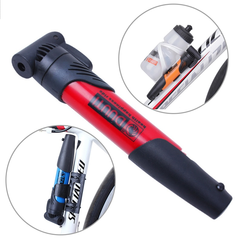 Mini inflador para bicicleta bomba portátil de ciclismo bomba de aire bomba de neumático del neumático de la bola de la bomba de mano de alta resistencia de herramientas bicicleta accesorios