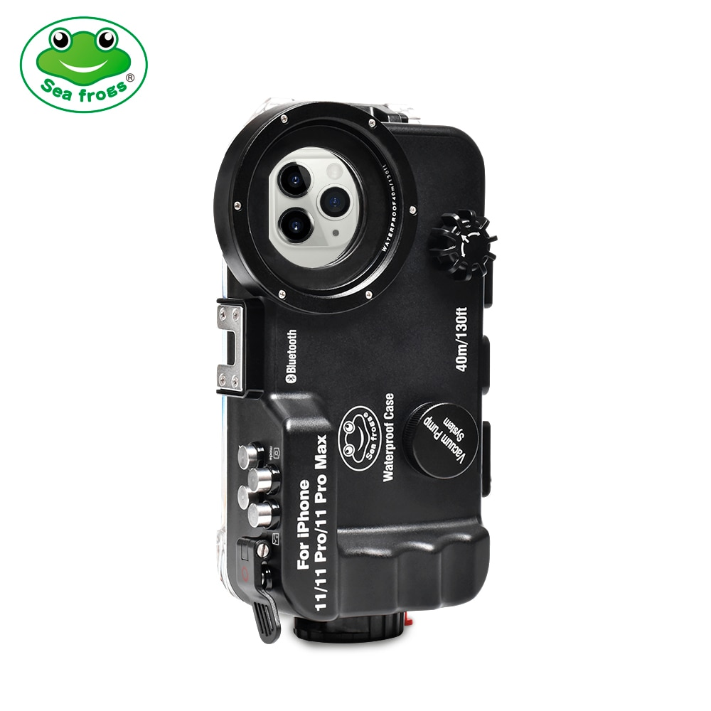 Promo Seafrogs For iPhone 11/11pro/11pro max Waterproof Housing Professional Diving Underwater Photography  40M Phone Accessrorie Case