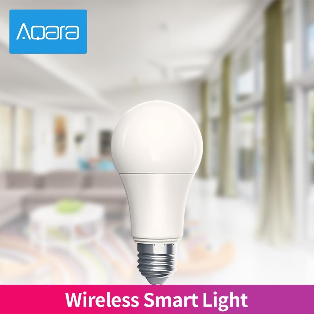 Aqara Ampoule LED Intelligente Zigbee 9W E27 220-240V 2700-6500K couleur AJUSTER La Température Mihome App Travaux Légers Avec HomeKit