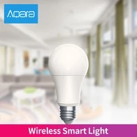 Aqara Ampoule LED Intelligente Zigbee 9W E27 220-240V 2700-6500K couleur AJUSTER La Temperature Mihome App Travaux Legers Avec HomeKit