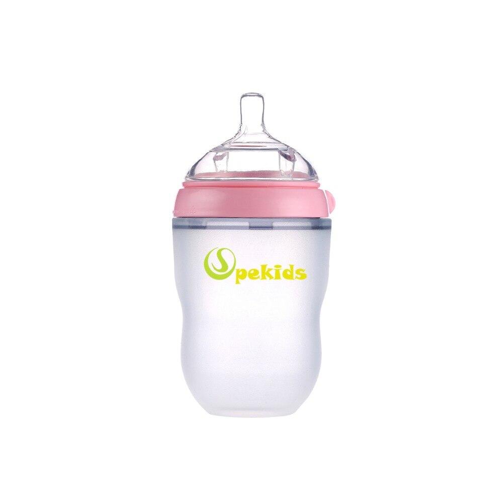 Силиконовая бутылочка mamadeira BPA Free Spekids, 150 мл и 250 мл, подарок, Детская Бутылочка biberon