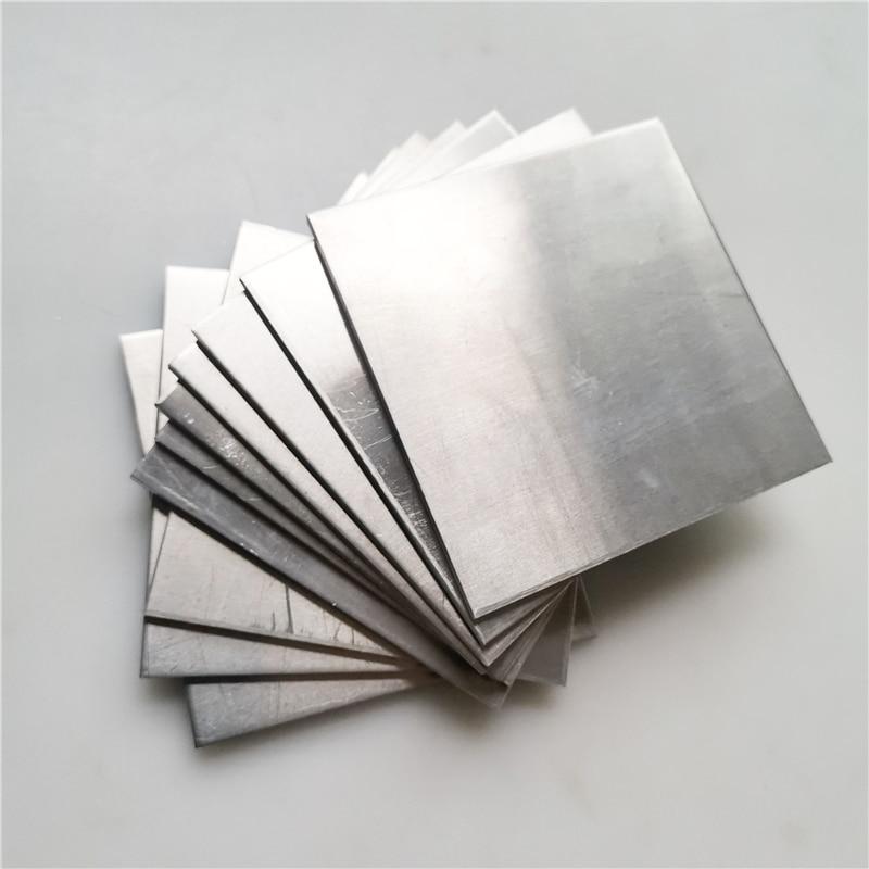5 stücke/10 stücke 5052 Aluminium platte Flache Aluminium Blatt DIY Dicke 3mm 100x100mm Anpassbare