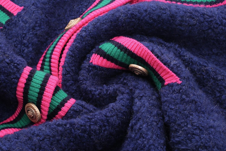 Winter Sweater Cardigan Pink Blue Long Sleeve Women Sweater Fashion enlarge