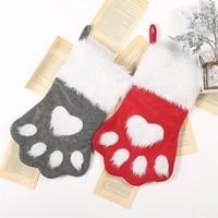 christmas dog claw socks christmas socks christmas tree decorations childrens gift bags pet socks candy bags
