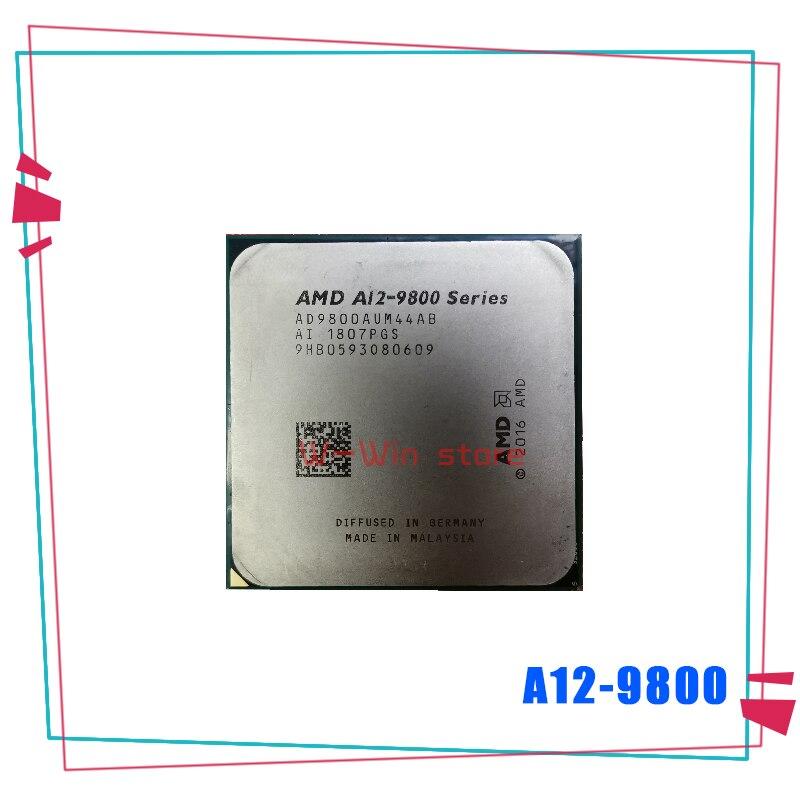 AMD A12-Series A12-9800 A12 9800 3,8 ГГц четырехъядерный процессор AD9800AUM44AB разъем AM4