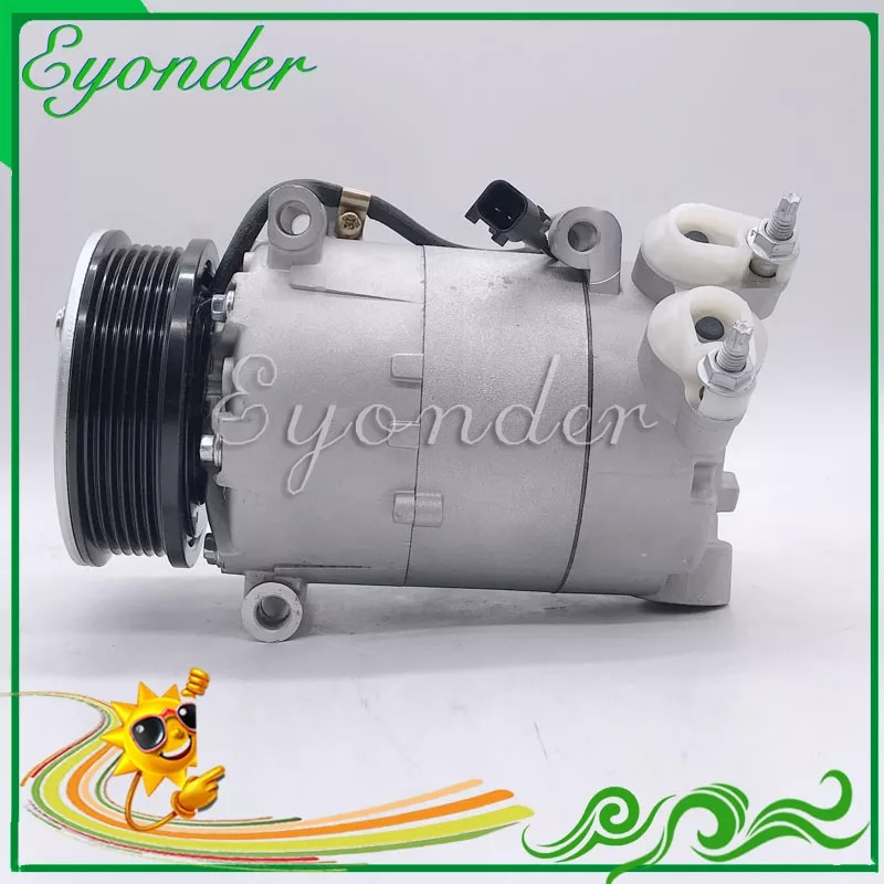 A/C AC Klimaanlage Kompressor Kühlung Pumpe PV6 für Land Rover RANGE ROVER EVOQUE LV 2,2 Diesel 2011 -2016 1671720 1697034
