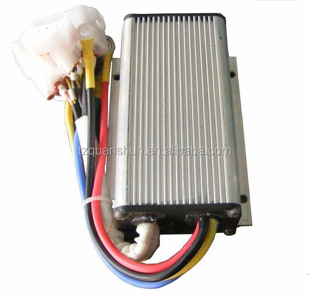 QSKLS4812S ، 24 فولت-48 فولت ، 120A ، وحدة تحكم في محرك التيار المستمر عديم المسفرات الجيوب الأنفية