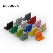 Guduola – support de bloc de construction, plaque angulaire à petites particules 99207 Bot. 1.5 MOC building, 1x2, 50 pièces/lot, 2/2 MOC