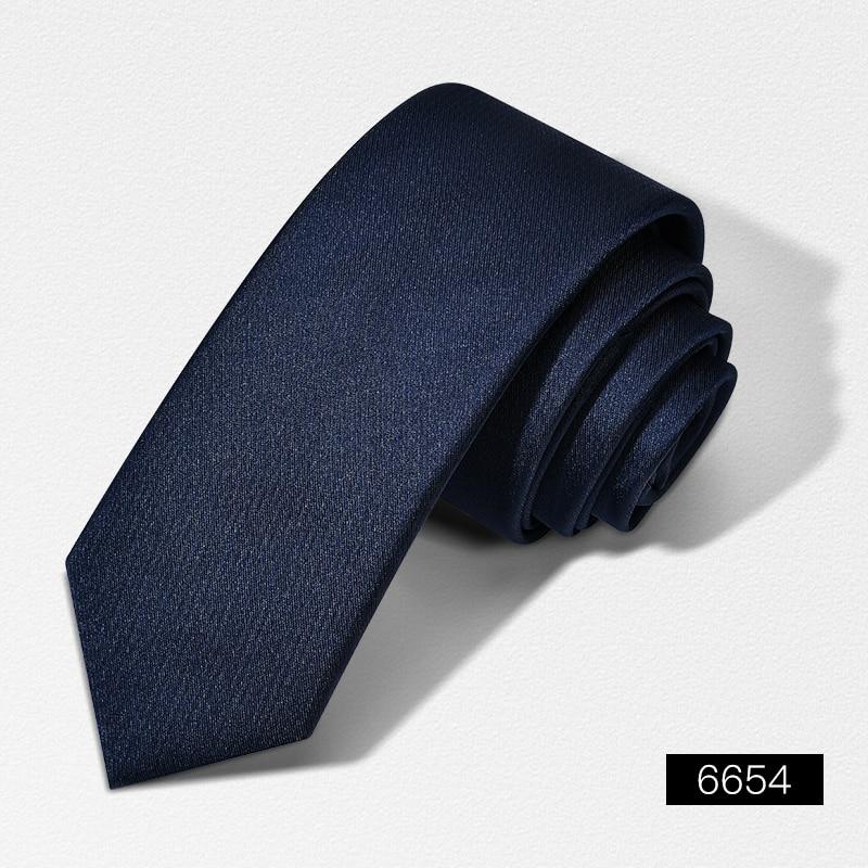 2020 Designer New Fashion 6cm Slim Ties for Men Neckties Wedding Bridegroom Banquet Casual Business Accessories with Gift Box