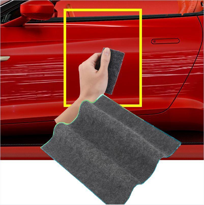 Чистая ткань для ремонта царапин автомобиля, наноматериал для светильник, средство для удаления царапин, потертости на поверхности, тряпка ...