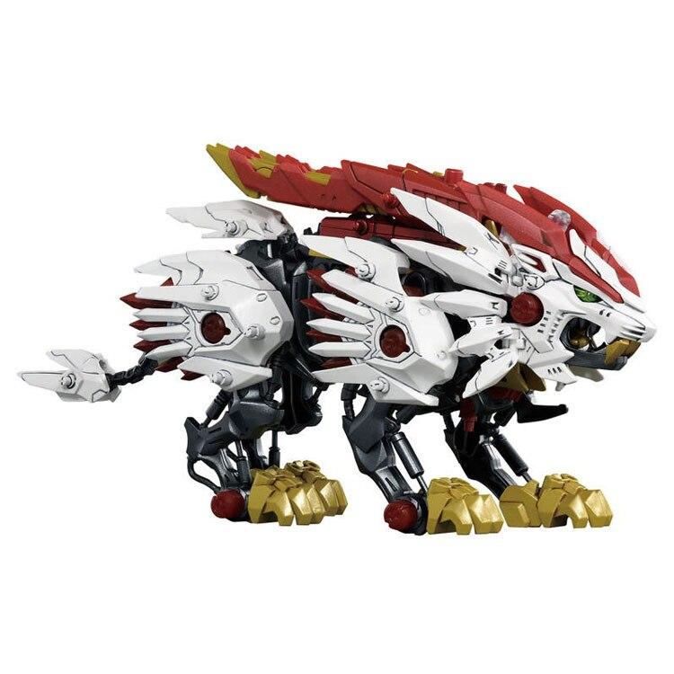 Takara Tomy Buliding bloques ZOIDS Animal Robot eléctrico montado bloques Monster modelos colección juguete Beast Liger