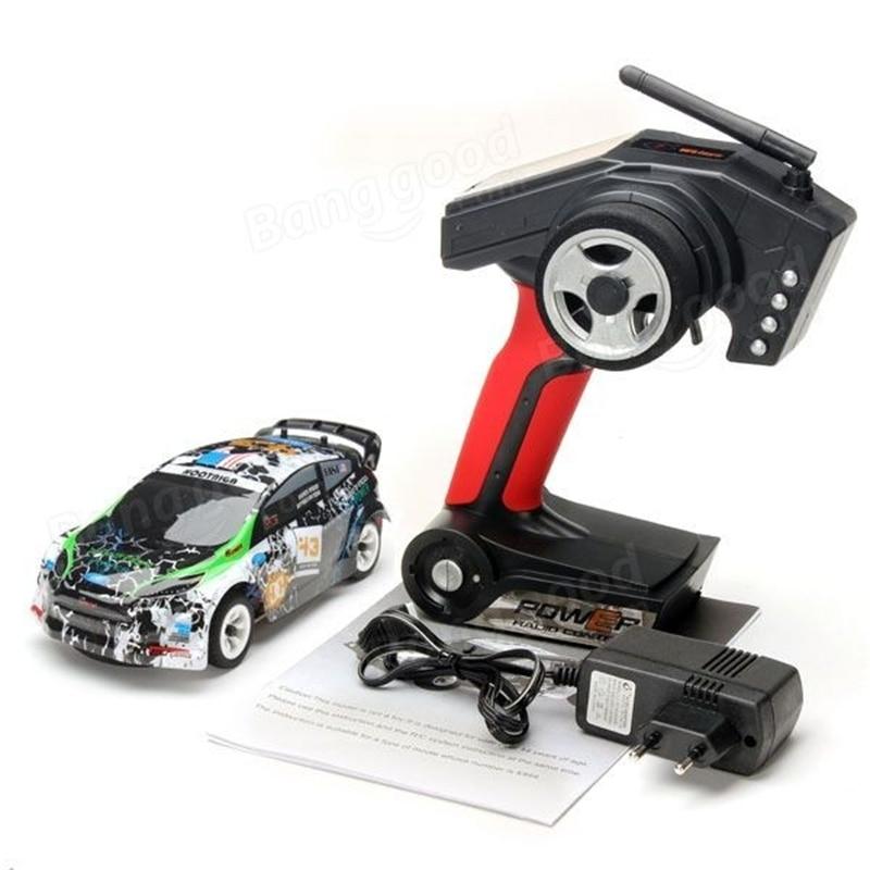 NYR K989 2.4G 4WD Car Brushed RC Remote Control 1:28  Racing Car GTR Drift Alloy Off Road Car Crawler Toys Models enlarge