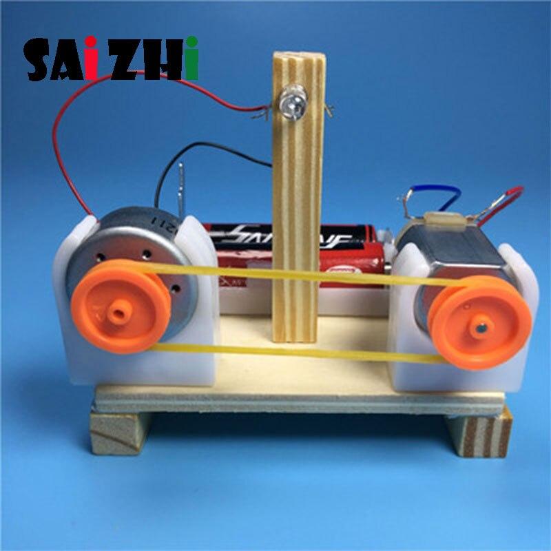 Saizhi modeli oyuncak Diy enerji dönüşüm göstericisi geliştirme akıllı kök oyuncak bilim elektrikli oyuncak doğum günü hediyesi