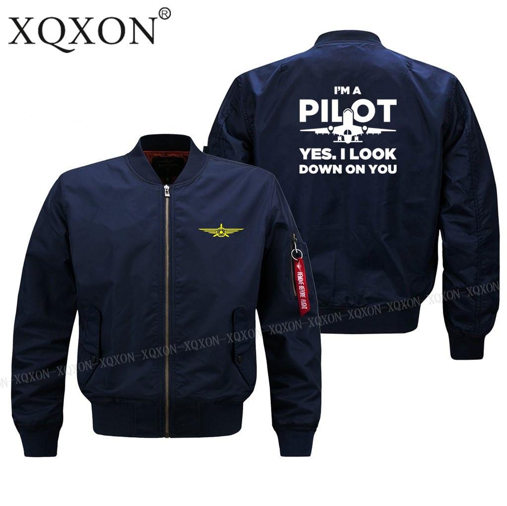 Мужская куртка Ma1 Толстая Тонкая, я пилот, да, я посмотрю на вас, пилот, мужские куртки и пальто J627