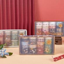 VanYi 10 Designs amour lettres Washi ruban ensemble esthétique coréenne papeterie fournitures de bureau japonais décoration école masquage robinet